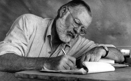 "Ernest Hemingway once said """