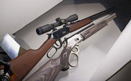 Glock 17; Marlin 1894 CB