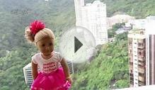 American Girl Doll Poppy goes to Hong Kong Disneyland