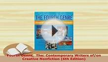 PDF Fourth Genre The Contemporary Writers ofon Creative